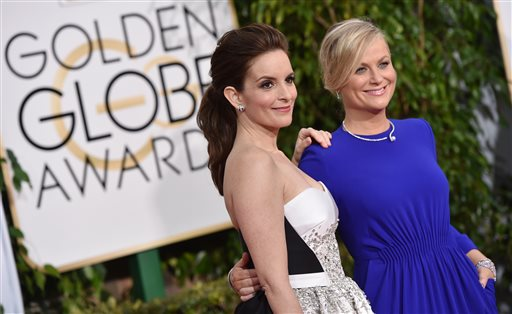 Tina Fey and Amy Poehler hosted the 72nd Golden Globes