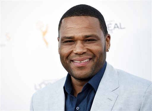 FILE - In this Sept. 19, 2015 file photo, Anthony Anderson, an Emmy nominee for Outstanding Lead Actor in a Comedy Series for