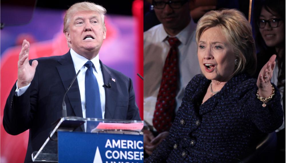 Round 2: Clinton v. Trump