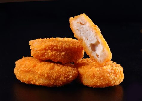Only eat the best chicken nugget.