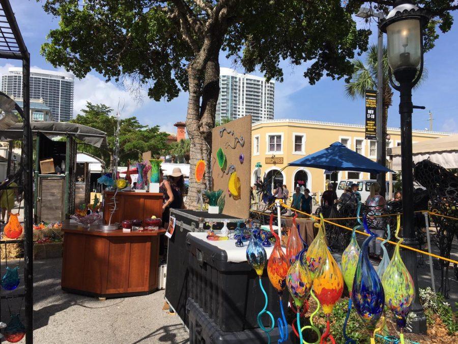The 30th Annual Las Olas Art Fair took place on October 21st and 22nd in Fort Lauderdale. (via Saumya Jain, junior)