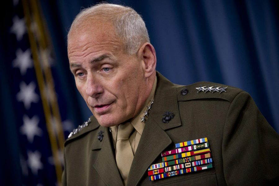 White House Chief of Staff General John F. Kelly (Mass Communication Specialist 1st Class Chad J. McNeeley via Department of Defense)
