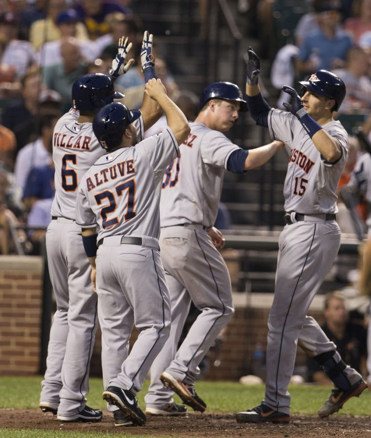 The Houston Astros are World Series Champs. (Photo Via Keith Allison/Flickr)