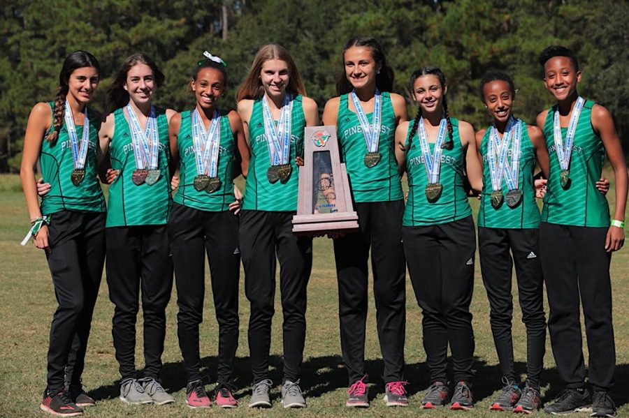 The Cross Country team continues to shine.