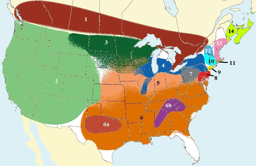 As shown in this map, accents vary greatly depending on location.