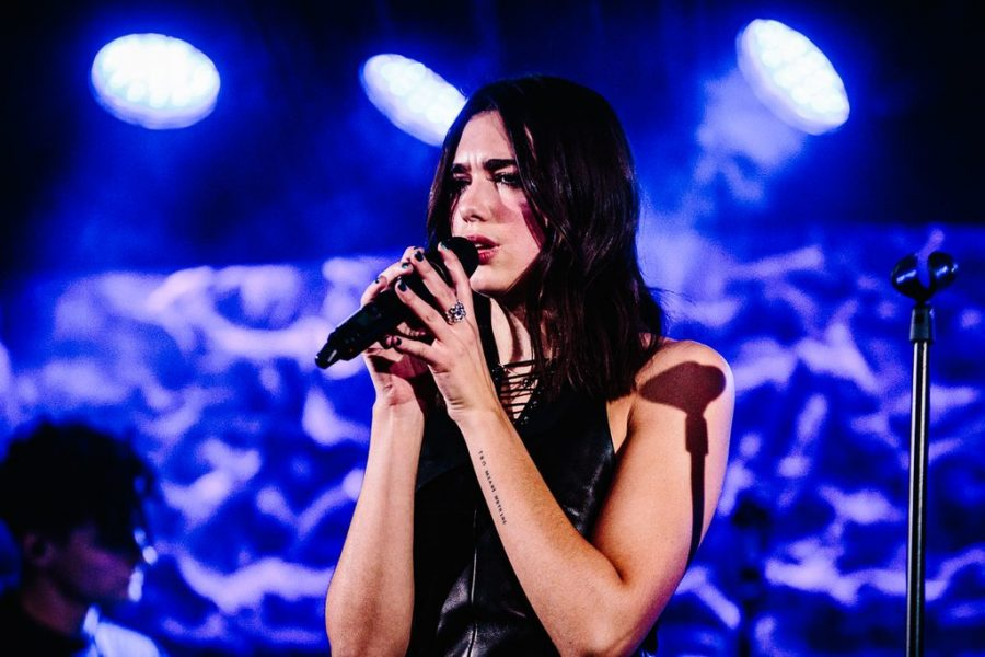 Dua Lipa was one of the artists placed on this program's longlist, via Sachyn Mital (Wikimedia Commons).
