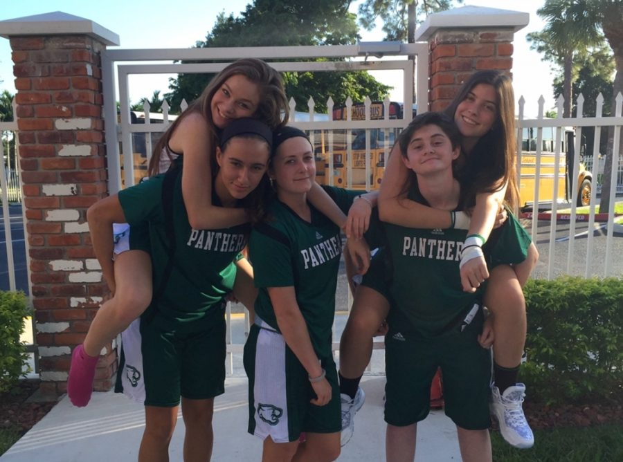 The Girls Basketball team is off to a strong start on the season.
