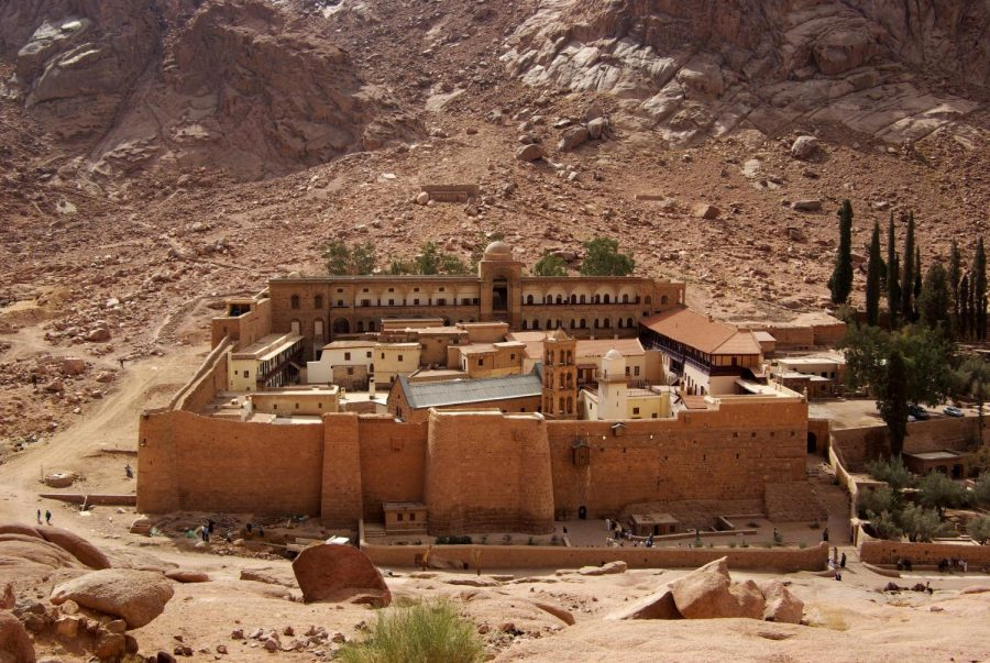 The attack took place in the northern region of the Sinai Peninsula; pictured is the St. Catherine's Monastery, a religious center in the region.