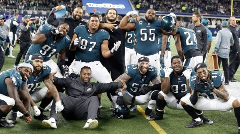 The Eagles defense has been instrumental in their success. (AP Photo/Michael Ainsworth)