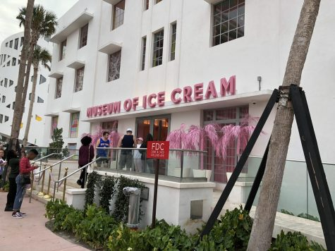The Museum of Ice Cream entrance