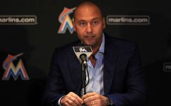 Marlins owner Derek Jeter has not made a great first impression with many fans. (PHOTO: Mike Ehrmann/Getty Images)