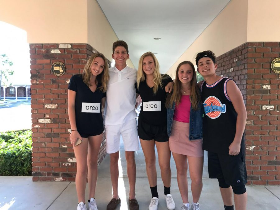 The Sadie theme this year was dynamic duos and students came dressed in a variety of creative costumes.