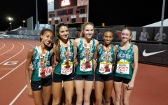 The girls break records in Los Angeles, California.