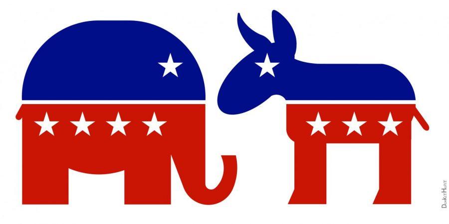 The Republican Party vs. the Democratic Party: the biggest rivalry in politics.