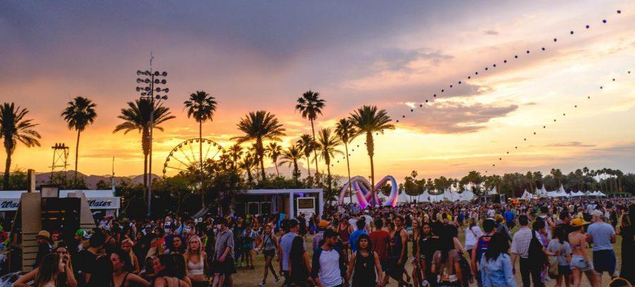 The view at Coachella.