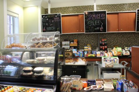 The complete selection at the updated Student Union Café.