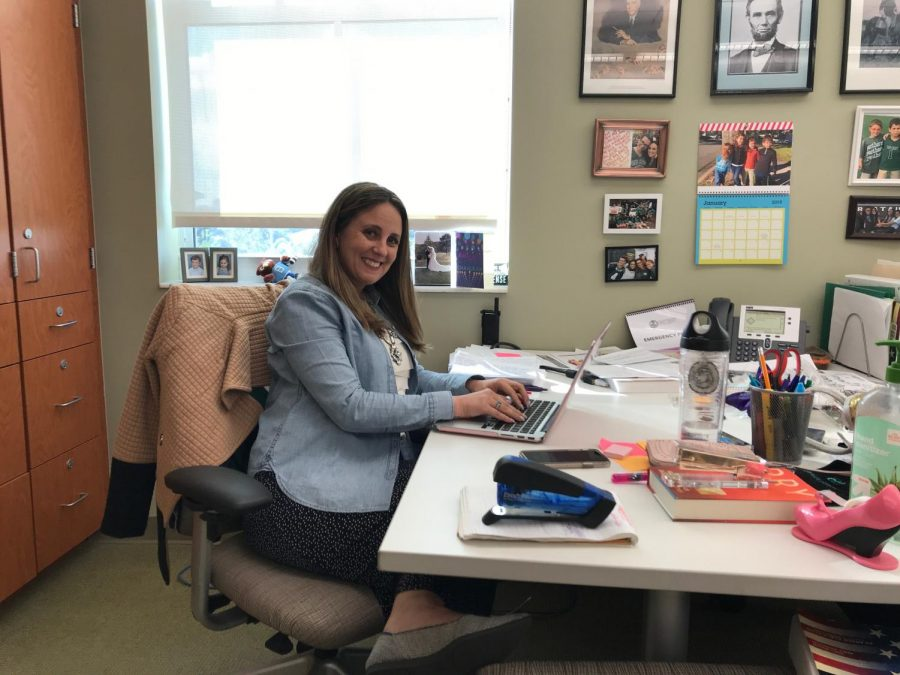 Mrs. Nisman is working to prepare for the Multicultural Assembly.