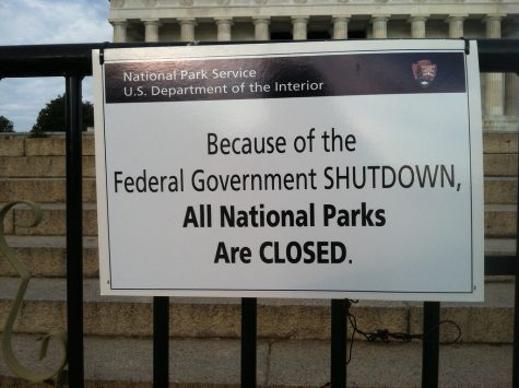 National Parks closed across the country due to a lack of funding.