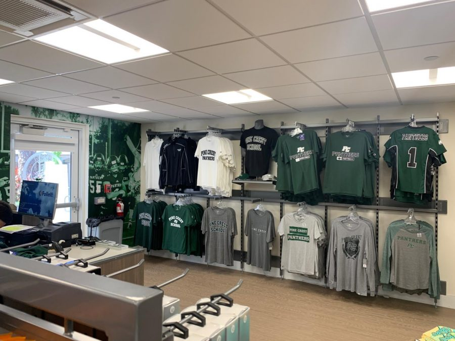 A look at the new Campus Store location (via Liza Goldstone)