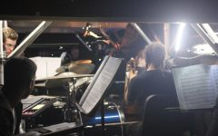 An inside look from the orchestra pit (via Anna Selden)