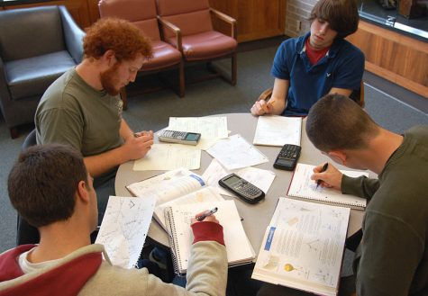 Studying can be stressful, but working with friends could help!