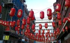 In Chinese culture, red lanterns symbolize prosperity and a bright future.