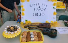 The Songs for Smiles booth