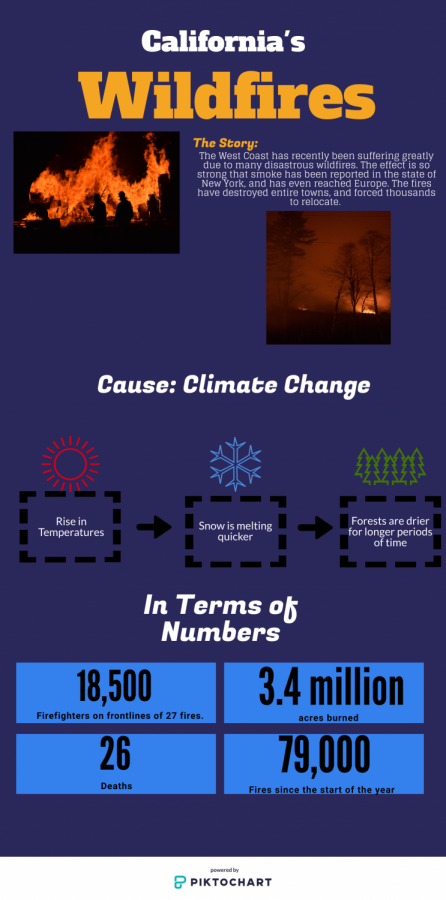 California Wildfires Infographic