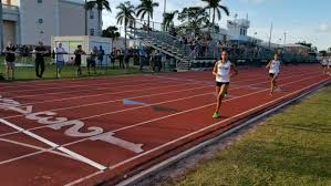 Pine Crest's old red track, which will soon be renewed with green and grey rubber.