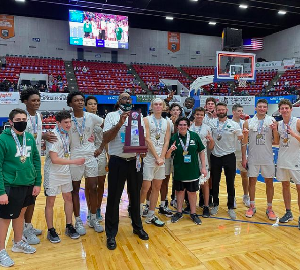 Pine Crest's Boys Basketball Finish Historic Season With State Title